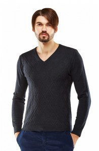 Чоловічий трикотажний светр Pull Project