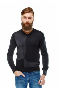 Чоловічий трикотажний светр Primo Emporio