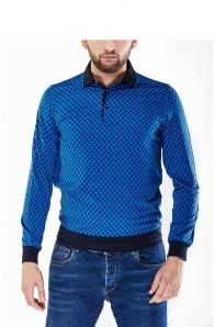 Чоловічий светр поло Cortigiano in Bottega