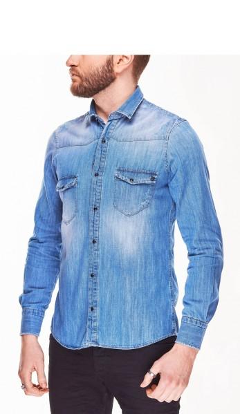 Джинсова сорочка Primo Emporio