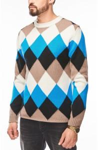 Чоловічий вовняний светр Daniele Fiesoli