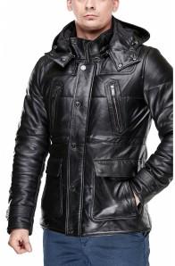 Куртка шкіряна Bikkembergs Sport